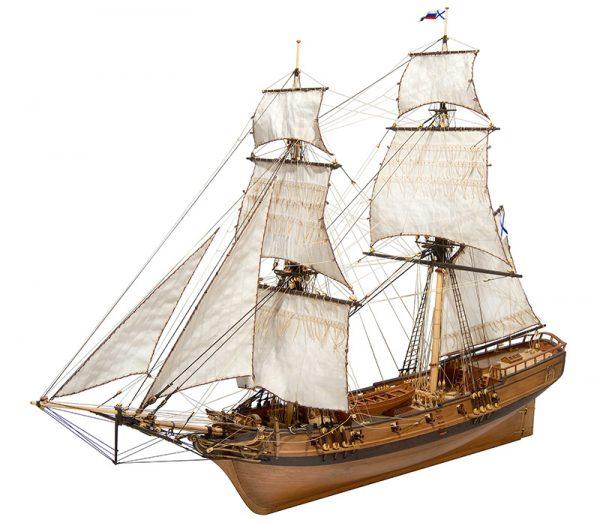 Brigantine Phoenix 1787 Model Ship Kit - Master Korabel (MK0401P)