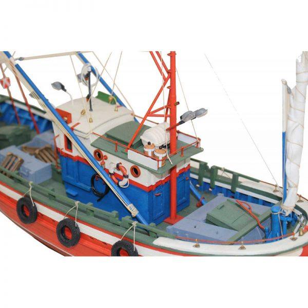 Virgen Del Carmen, Merlucera Del Cantabrico Model Boat Kit - Disar (20143)