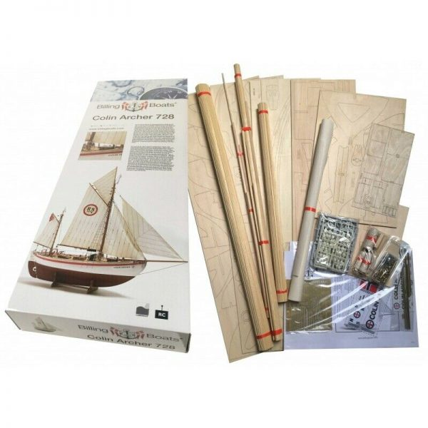 Colin Archer Model Boat Kit Scale 1 to 15 - Billing Boats (B728)