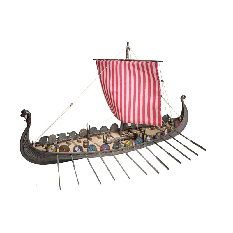 Viking Drakkar Wooden Model Ship Kit - Disar (20164)