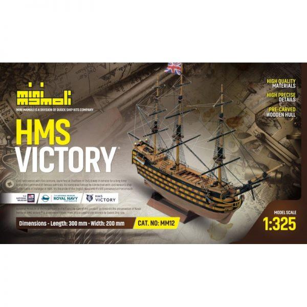 HMS Victory Model Ship Kit - Mini Mamoli (MM12)