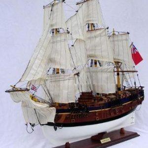 HMS Endeavour Model Ship (Standard Range) - GN (TS0006W/P-60)