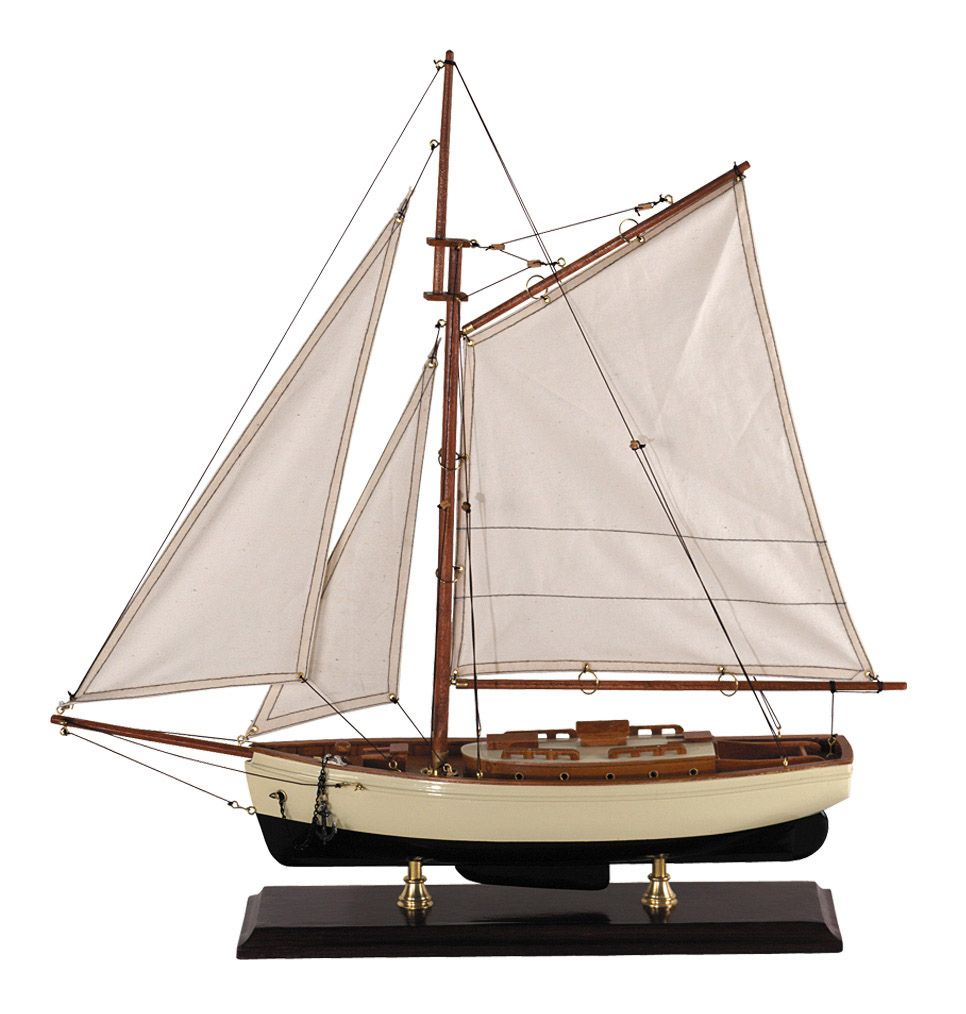 1035-12518-1930s-Classic-Model-Yacht-Standard-Range-Authentic-Models-AS134AS135