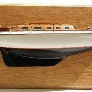 1039-6690-Vindo-40-Half-Hull-Model-Sloop