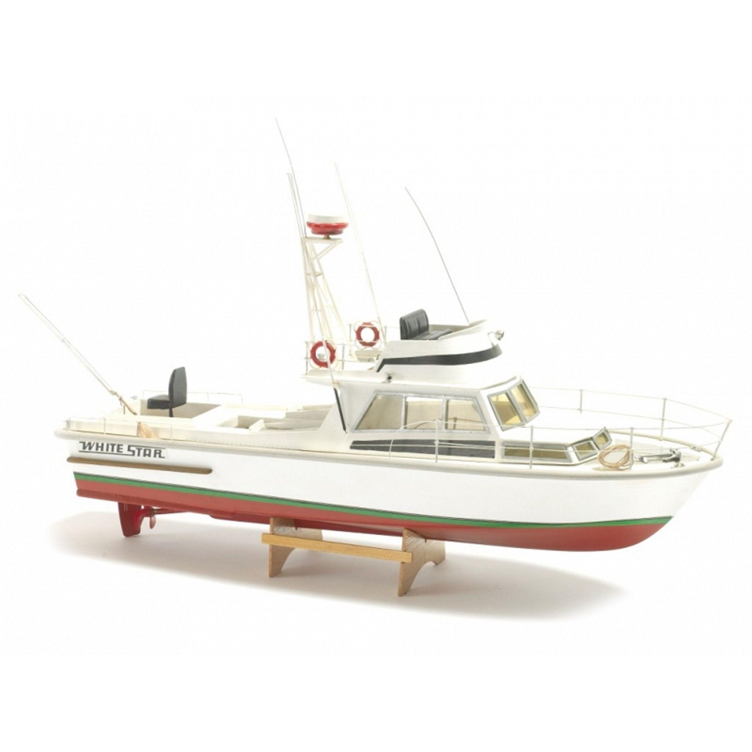 1127-9270-White-Star-Motor-Boat-Kit