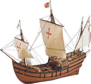 1143-7949-La-Pinta-Model-Boat-Kit