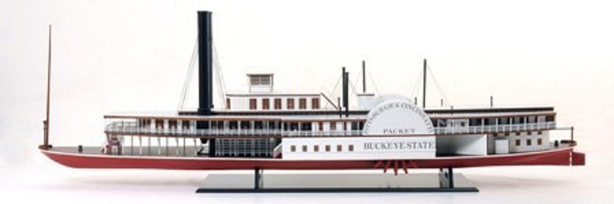 Buckeye Paddle Steamer (Premier Range) - PSM