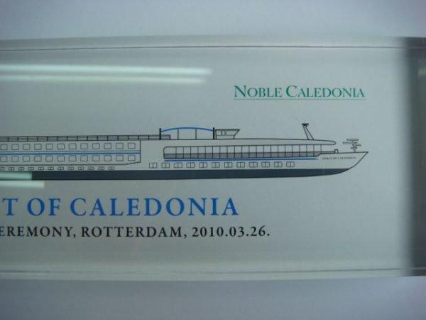 Spirit of Caledonia River Cruise Vessel