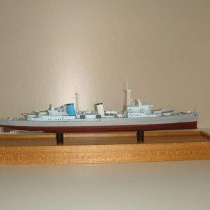HMS Belfast Model Ship