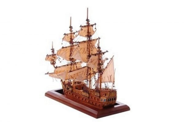 1254-7011-Bristol-Waterline-Model-Ship-Premier-Range