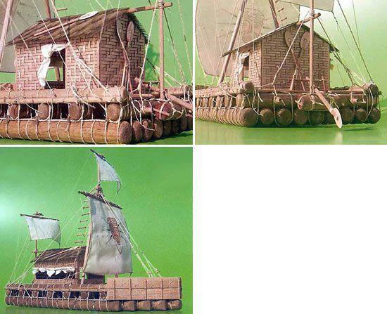 1283-8036-Kon-Tiki-model-boat