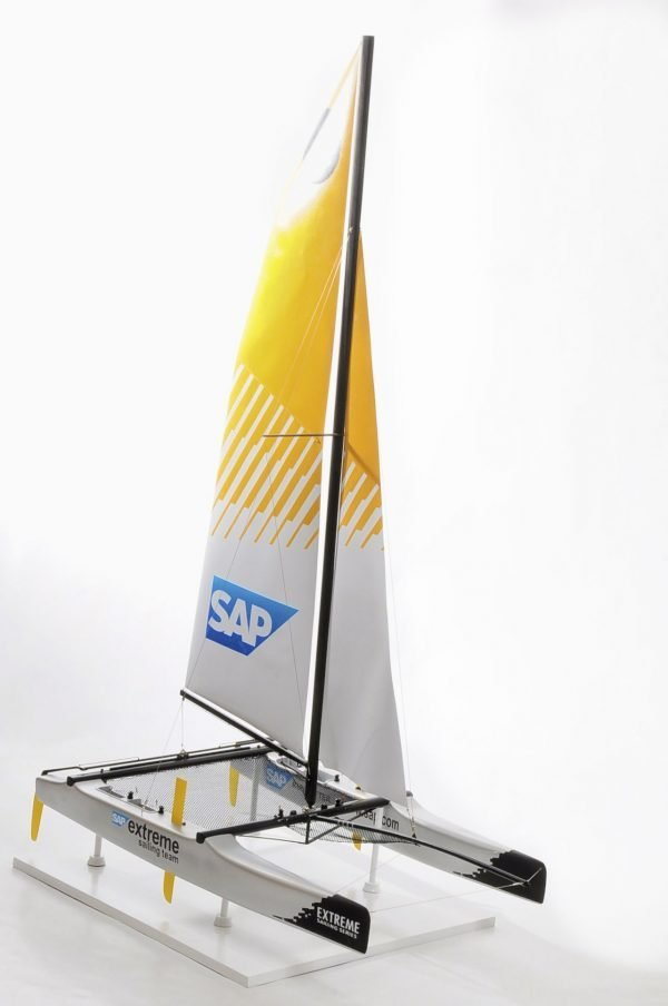 SAP Catamaran model boat