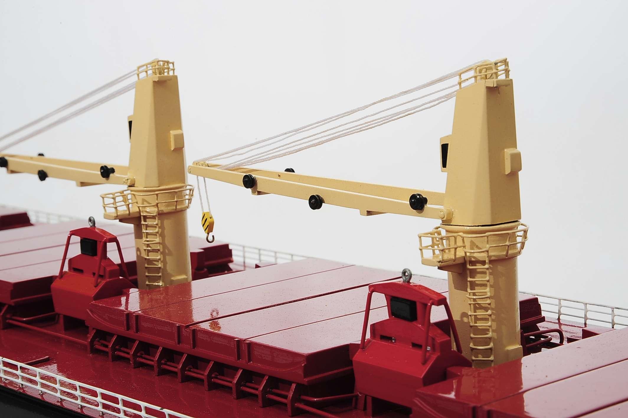 Bulk Carrier Customisable Model Ship