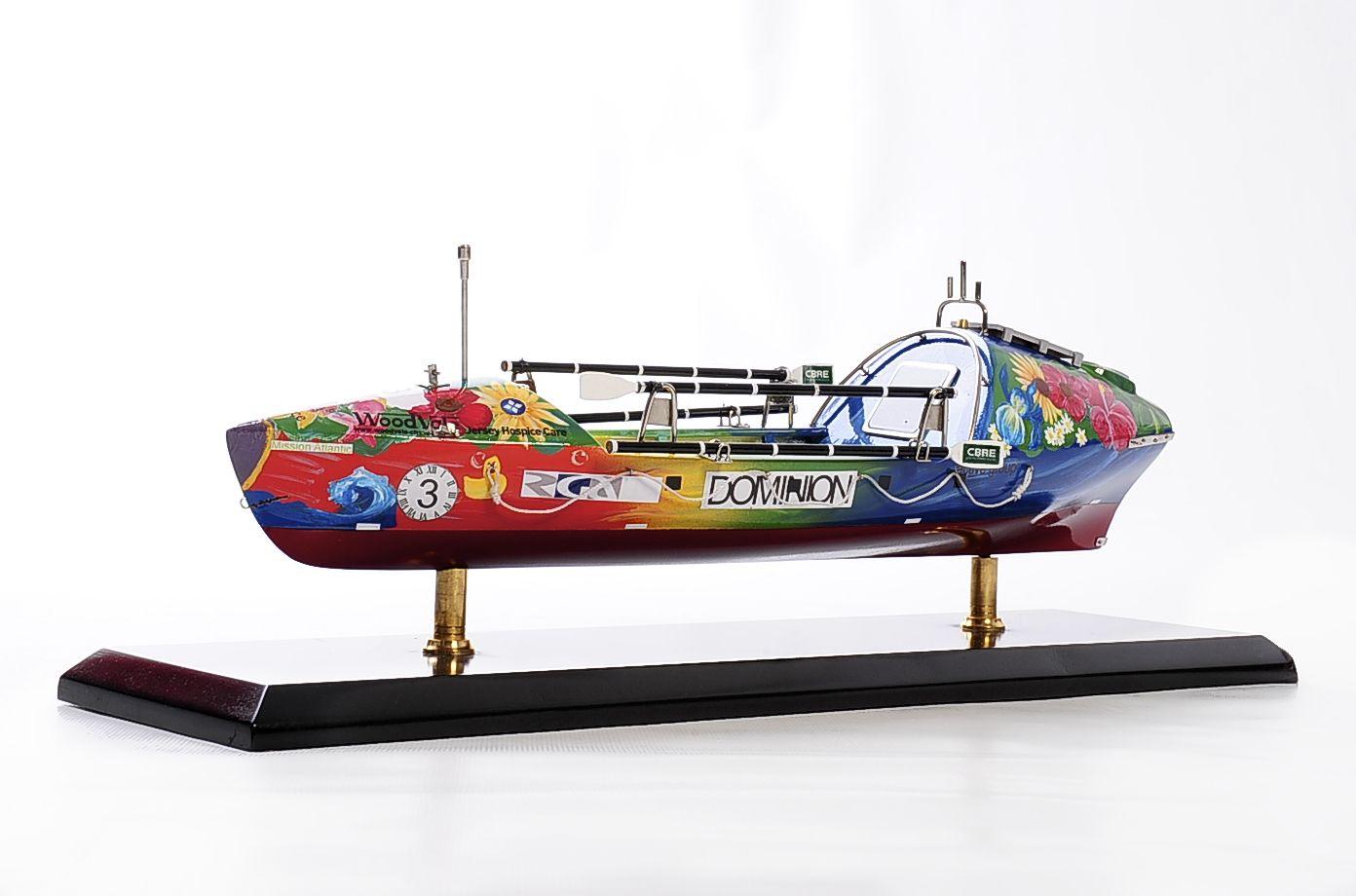 Ocean Rowing Boat Model