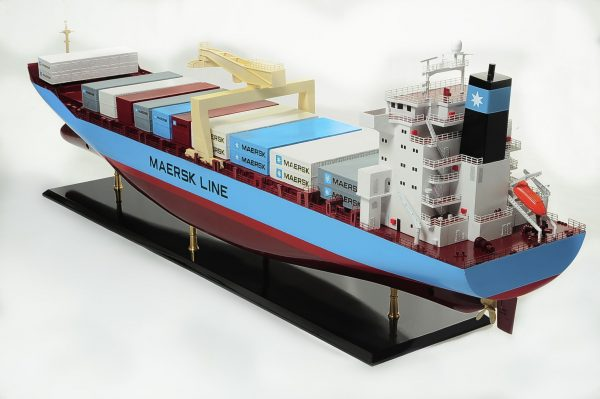 Container Model Ship 2