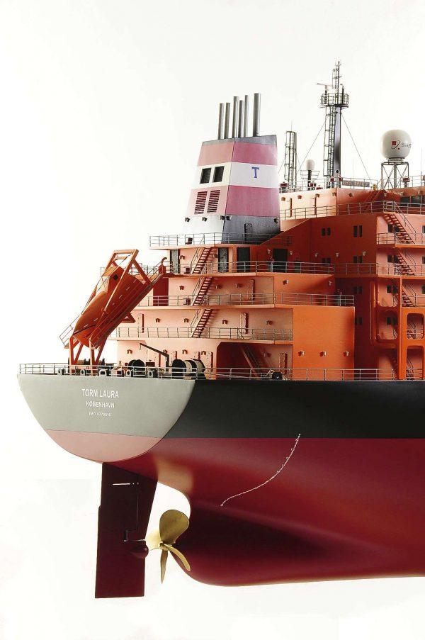 Oil Tanker Model Ship