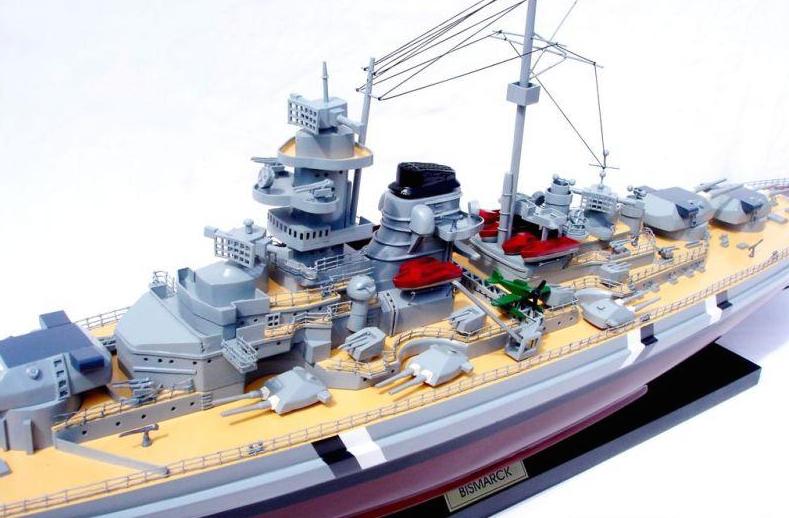 Bismarck Battleship Model (Standard Range) - GN (BT0022P)