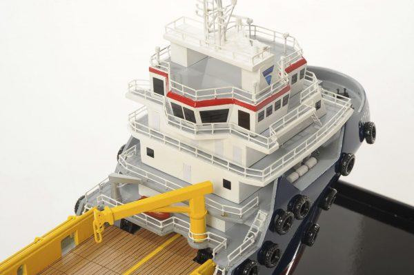 Topaz Marine Supply Vessel Model ship