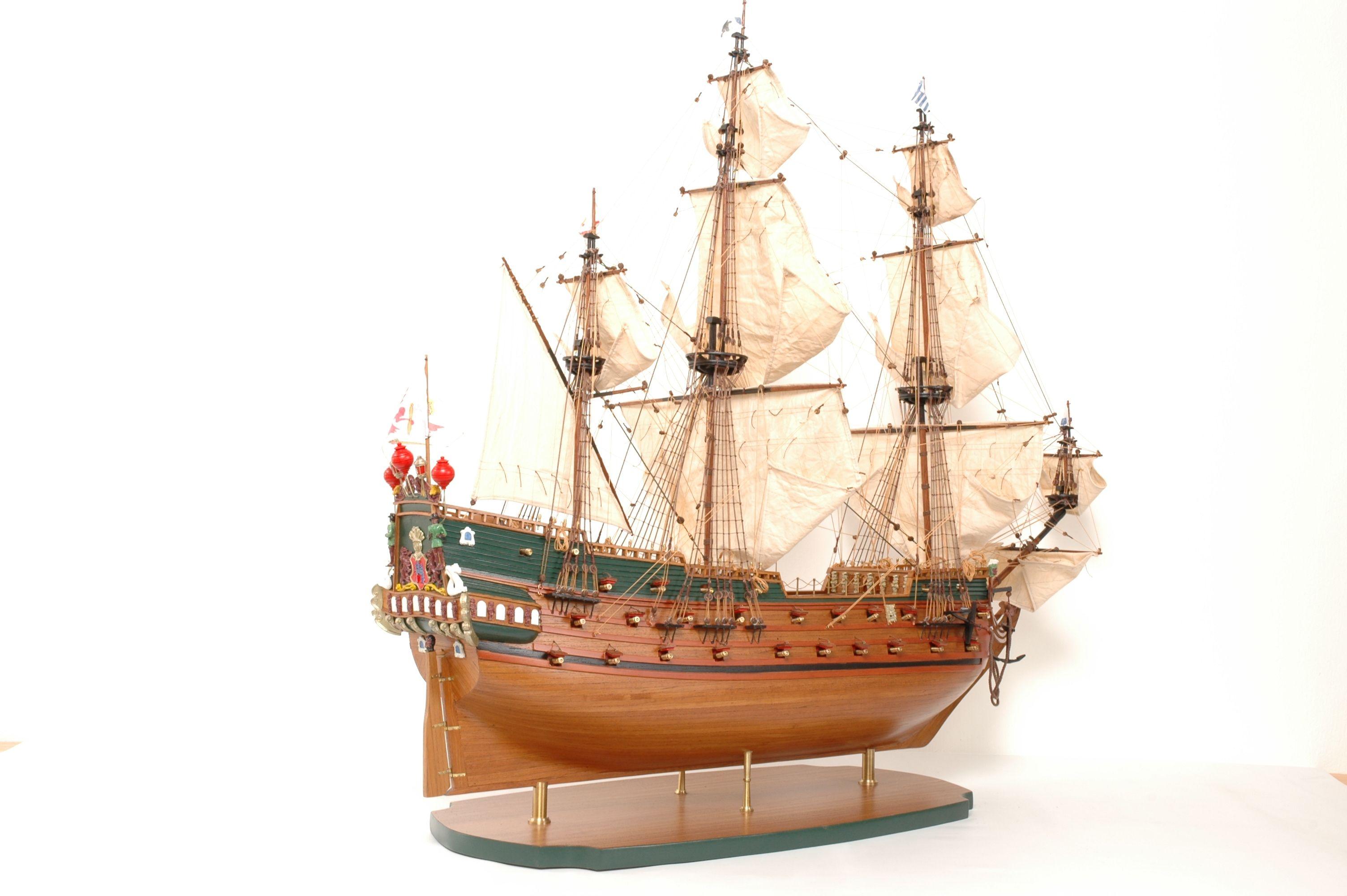 152-8210-Wappen-von-Hamburg-Ship-Model-Superior-Range