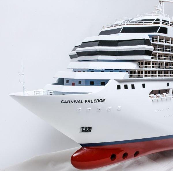 Carnival Freedom Cruise Vessel Model Boat