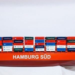 Hamburg Sud Container Ship Model