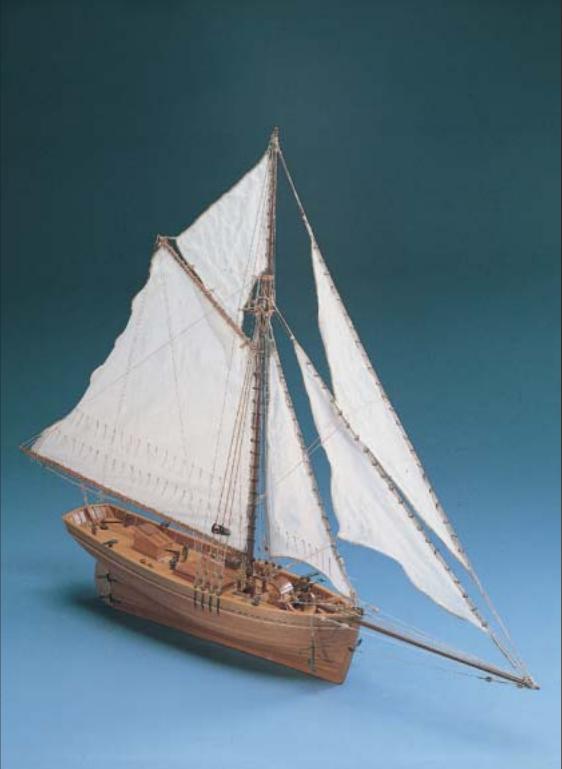 Shenandoah Wooden Model Boat Kit - Corel (SM37)