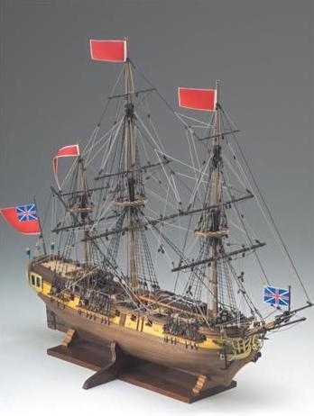 HMS Greyhound Ship Model Kit - Corel (SM59)