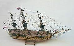 HMS Victory Model Ship Kit Scale 1 to 200 - Mantua Models (720)