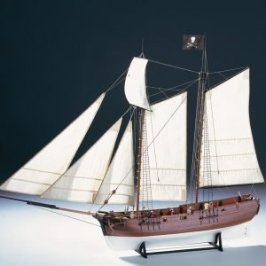 "Pirate Ship ""Adventure"" Model Boat Kit - Amati (1446)"