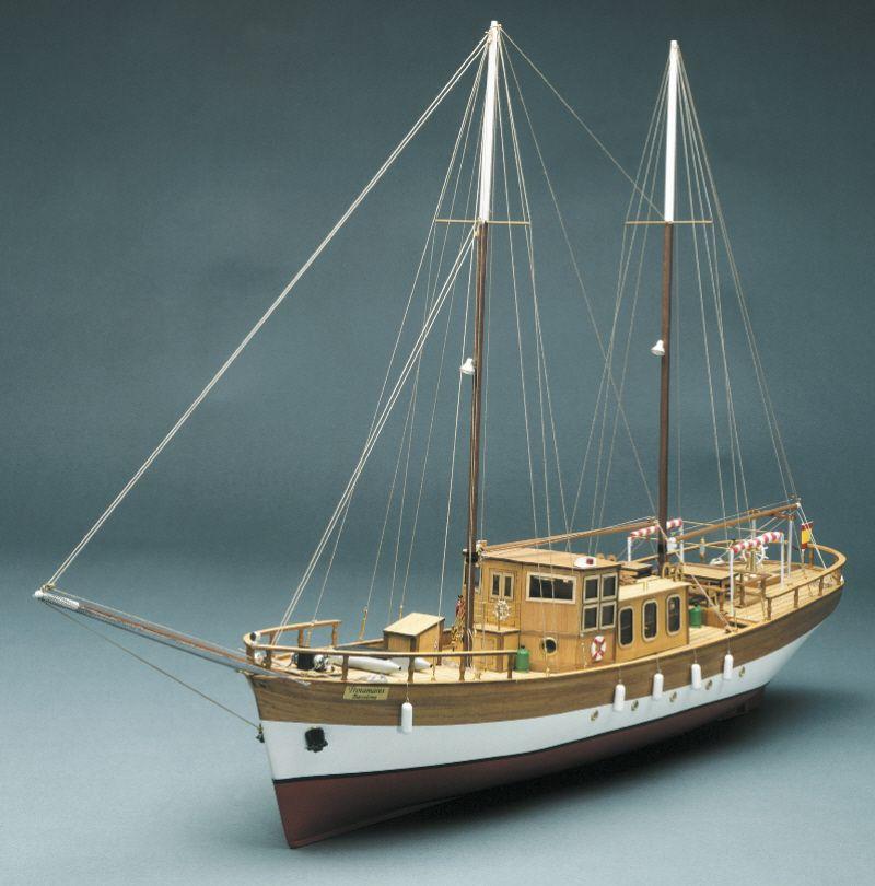 Trotamares Motor Schooner - Mantua Models (753)