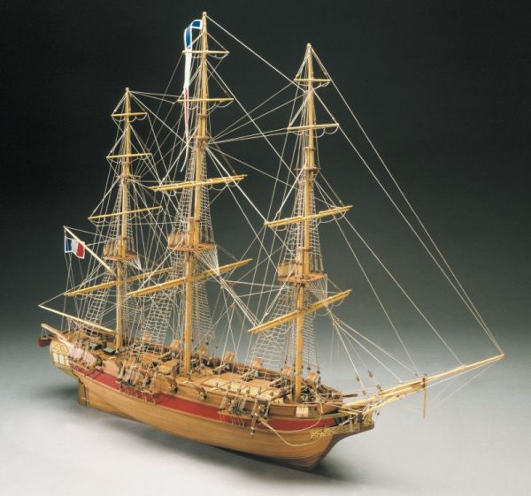 Astrolabe French Corvette Ship Kit - Mantua Models (773)