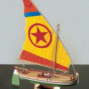 1593-9210-Paranza-Classic-Yacht-Model-Kit