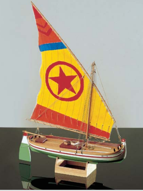 1593-9210-Paranza-Classic-Yacht-Model-Kit