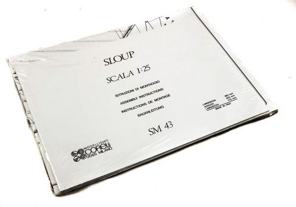 1595-13799-Sloup-Model-Boat-Kit-Corel-SM43