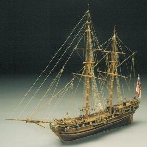 HMS Racehorse Bomb Ketch Model Boat Kit - Sergal (793)