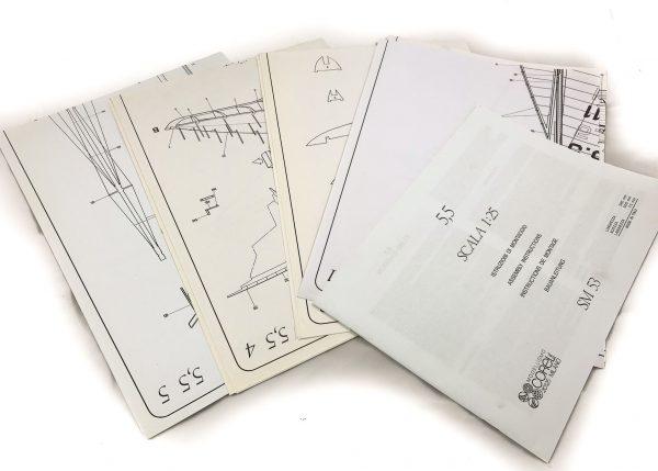 1600-13716-International-Class-Monotype-5.5-Model-Yacht-Kit-Corel-SM53
