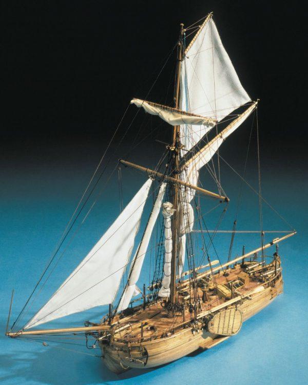 1601-9293-Dutch-Gun-Model-Boat-Kit-1830