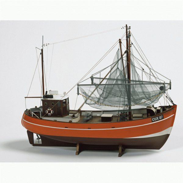 Cux 87 Krabben Kutter  Model Boat Kit - Billing Boats (B474)