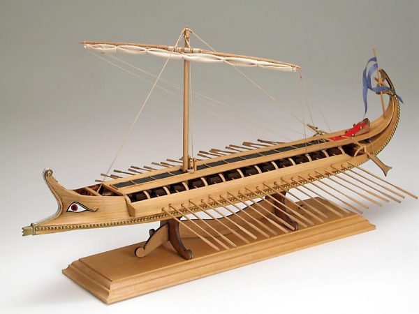 Bireme Greek Warship Model Kit - (Amati 1404)
