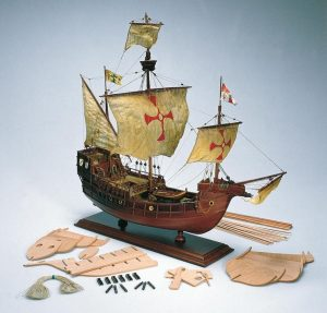1637-9297-Santa-Maria-Model-Kit-3
