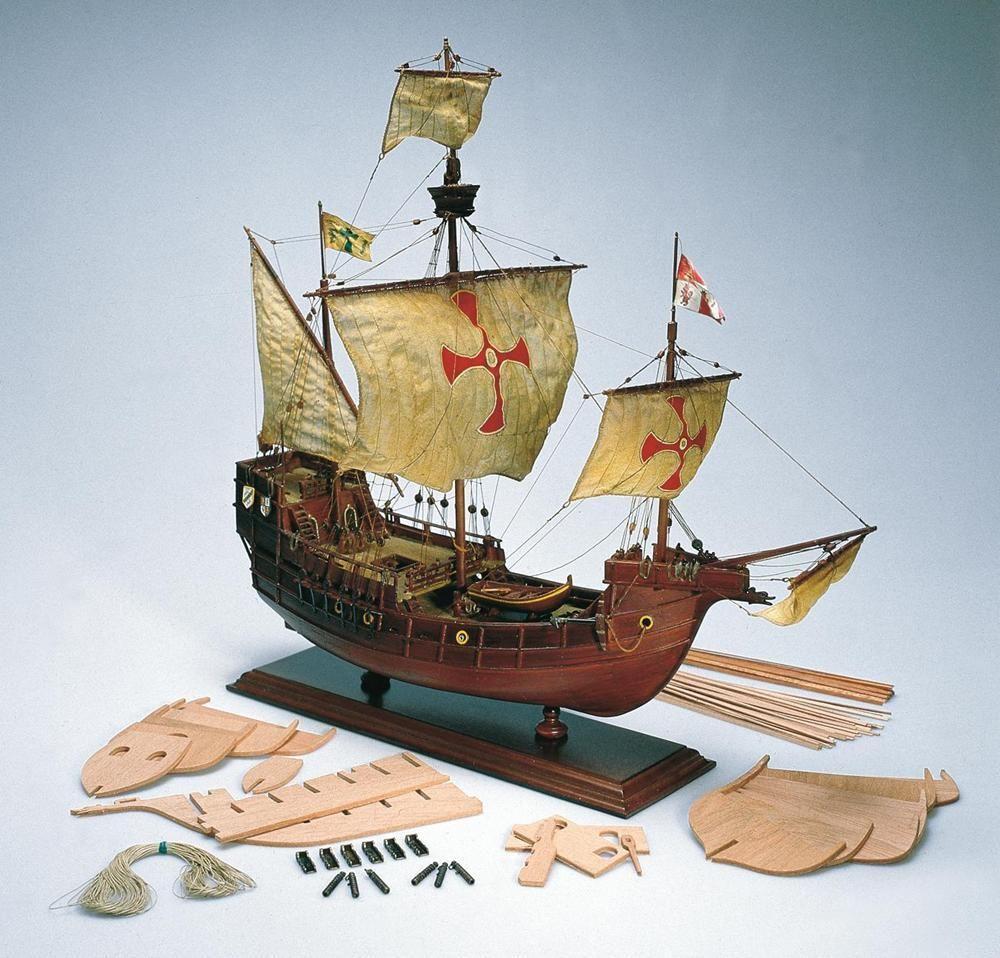 Santa Maria Model Boat Kit Scale 1 to 65 - Amati (1409)