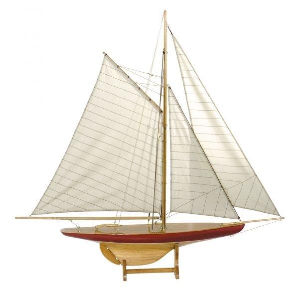 1642-12513-Sail-Model-Defender-1895-Standard-Range-Authentic-Models-AS055