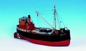 Northlight Clyde Puffer Model Boat Kit - Caldercraft (7001)