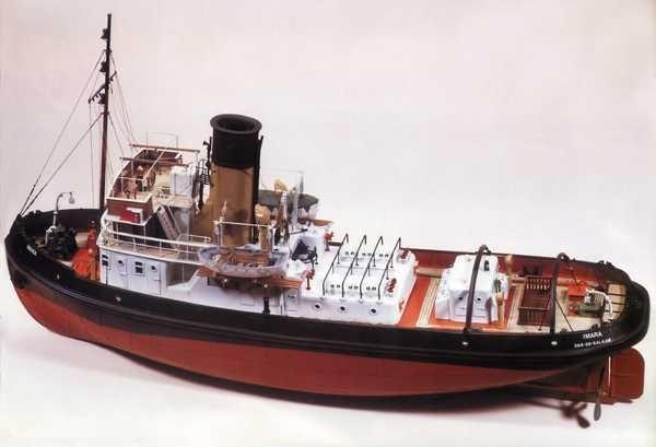 Imara Harbour Tug Boat Kit (Single Screw) - Caldercraft (7012)
