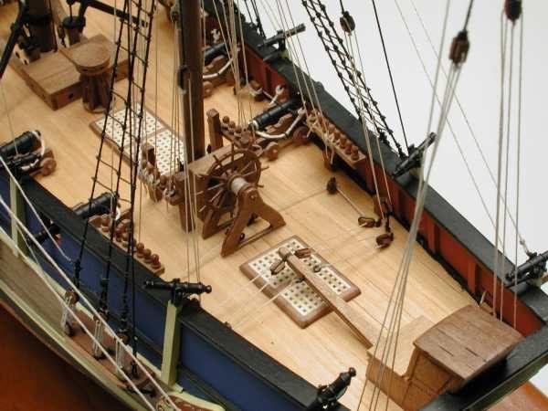 H.M.A.V. Bounty Ship Model Kit - Caldercraft (9008)