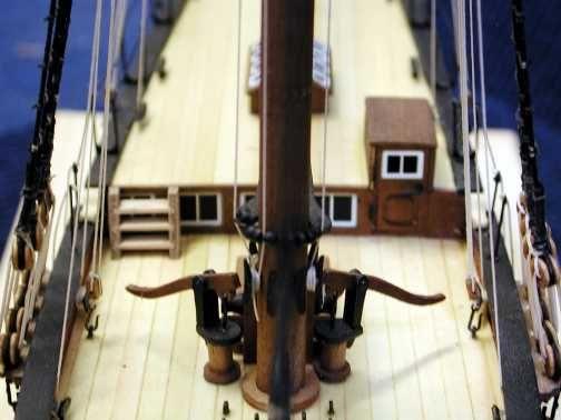 1723-9716-HM-Yacht-Chatham-Wooden-Model-Kit