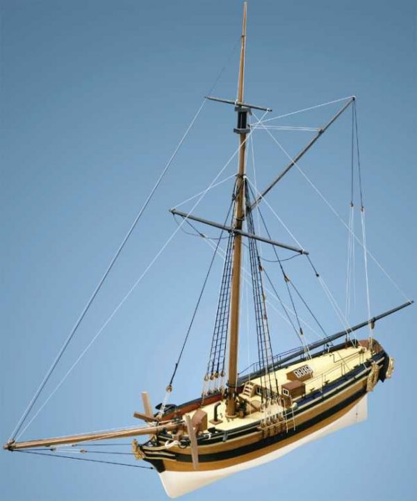 1723-9717-HM-Yacht-Chatham-Wooden-Model-Kit