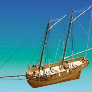HM Schooner Ballahoo Boat Kit - Caldercraft (9013)