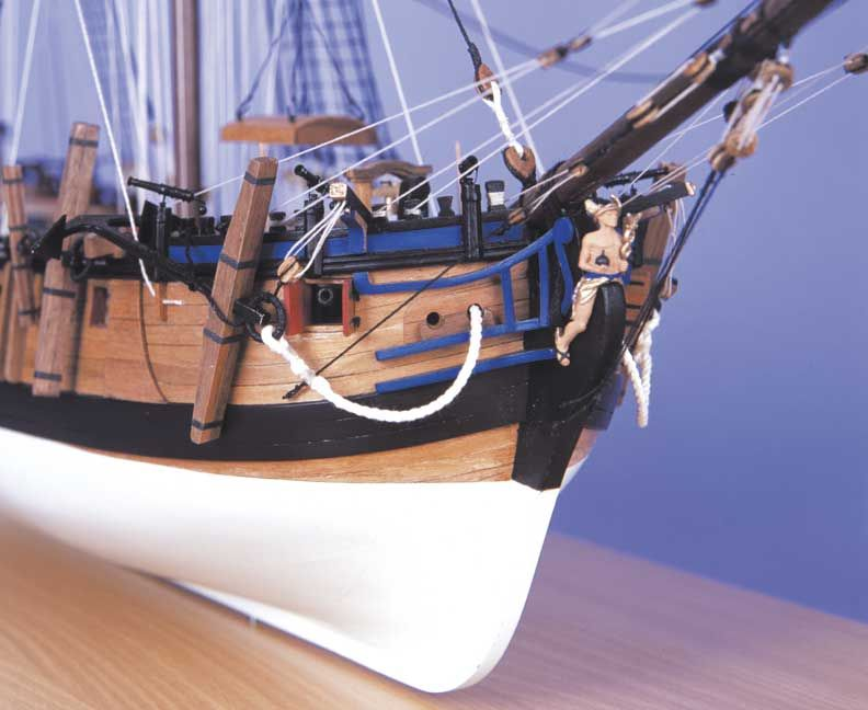 HM Bomb Vessel Granado Model Boat Kit - Caldercraft (9015)