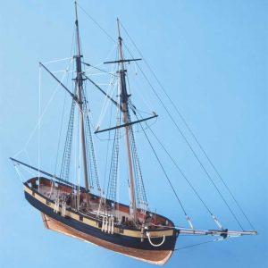 HM Schooner Pickle Wooden Boat Kit - Caldercraft (9018)